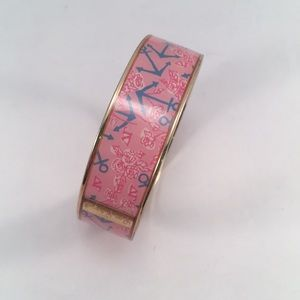 Lilly Pulitzer Delta Gamma Photodome bangle NWOT